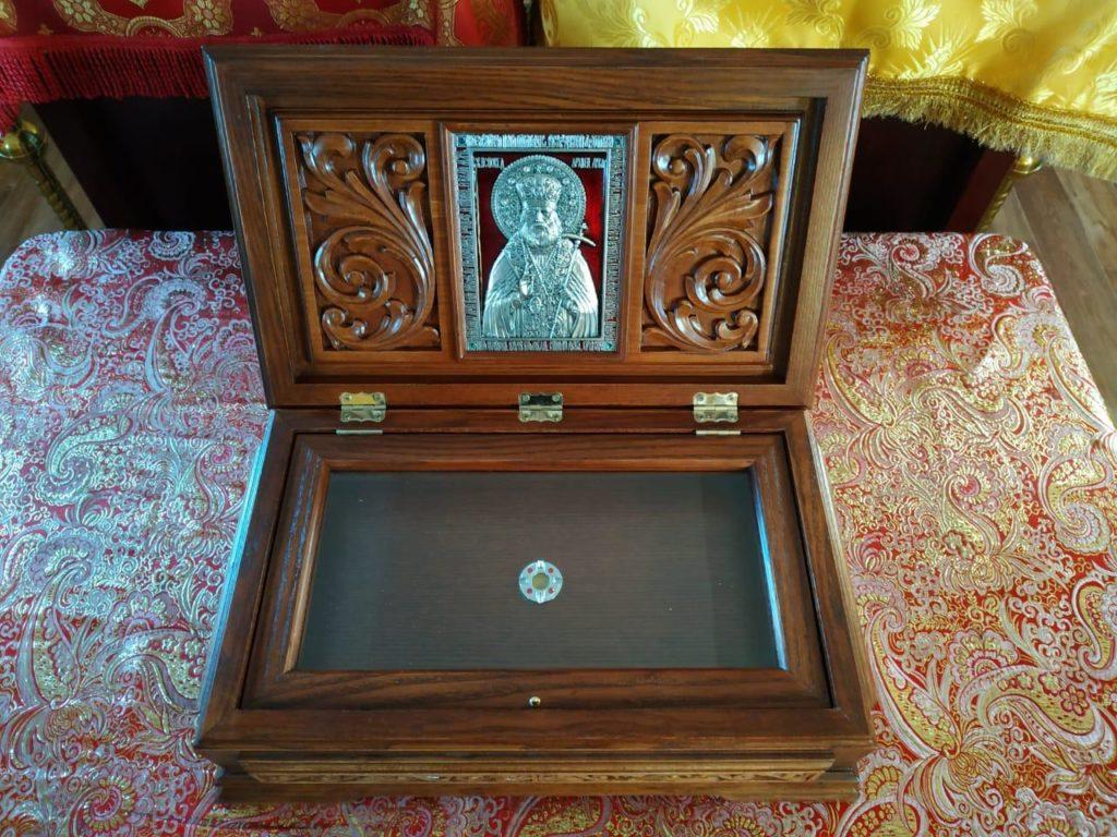 Ковчег с частицей мощей святителя Луки Крымского